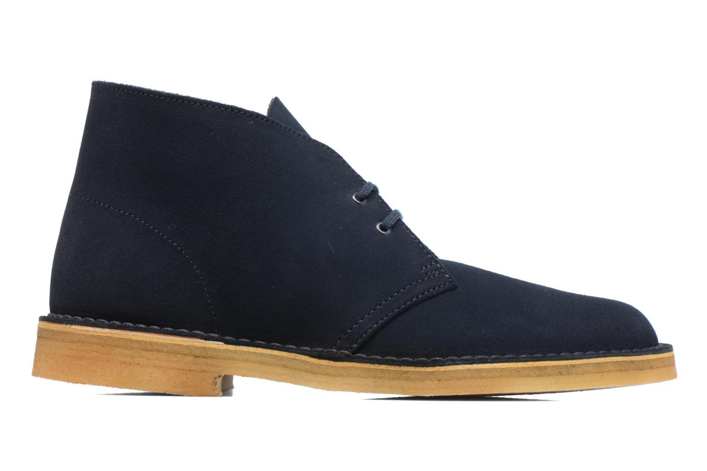 Bottines et boots Clarks Desert Boot M Bleu vue derrière