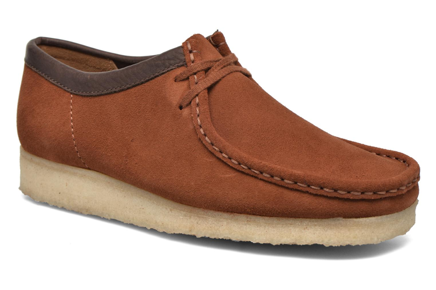 Wallabee M Dark tan suede