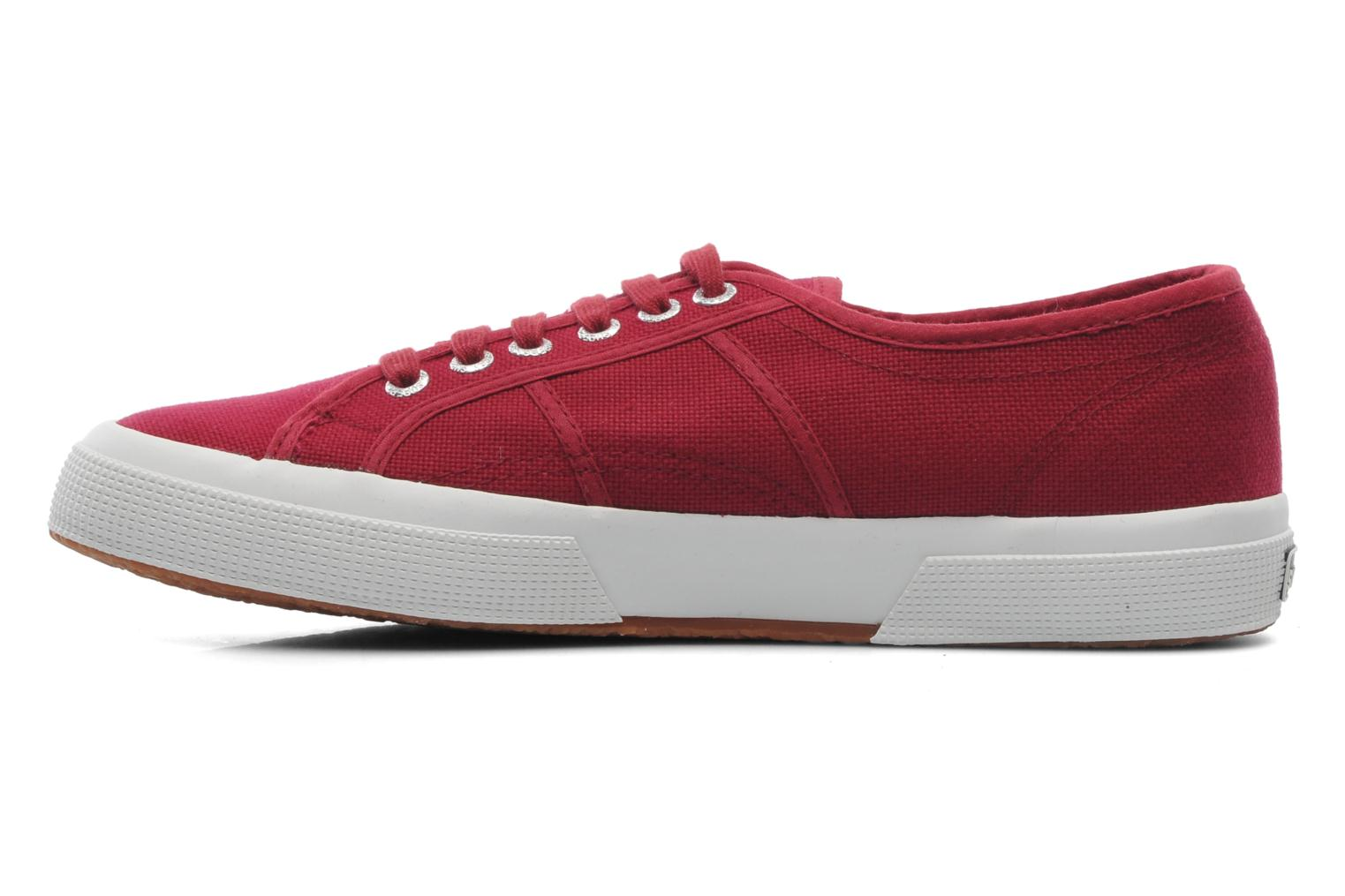 Trainers Superga 2750 Cotu M Burgundy front view