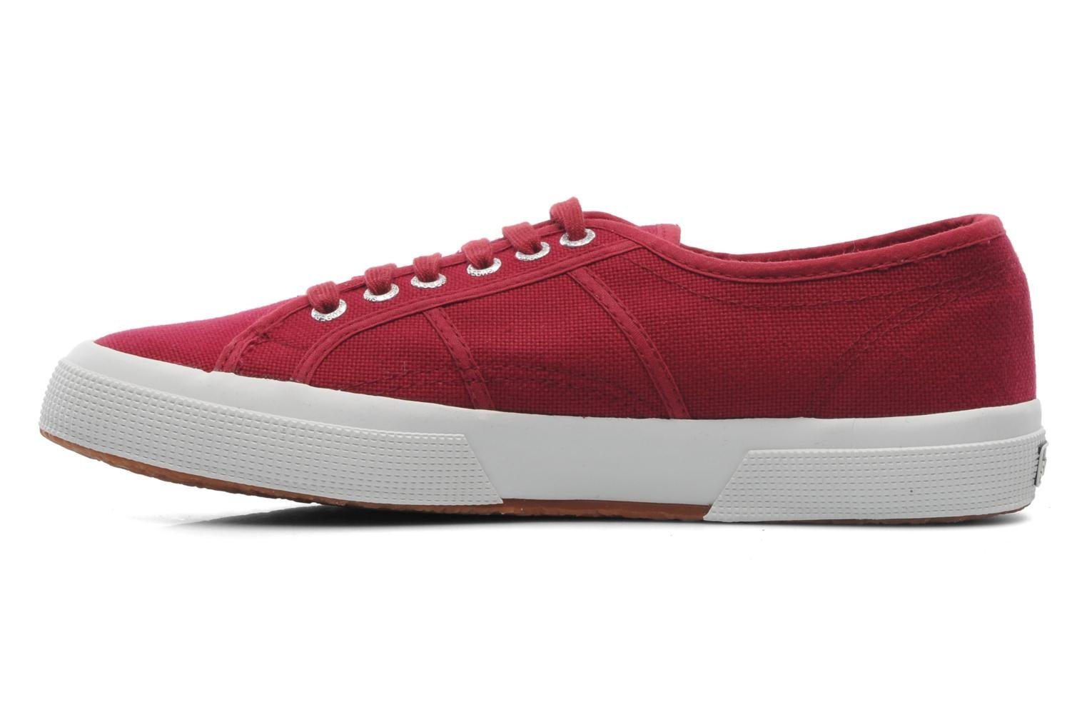 Baskets Superga 2750 Cotu M Bordeaux vue face