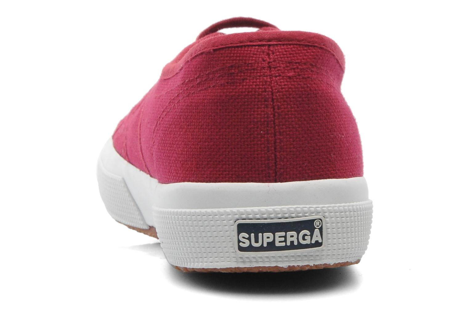 Trainers Superga 2750 Cotu M Burgundy view from the right