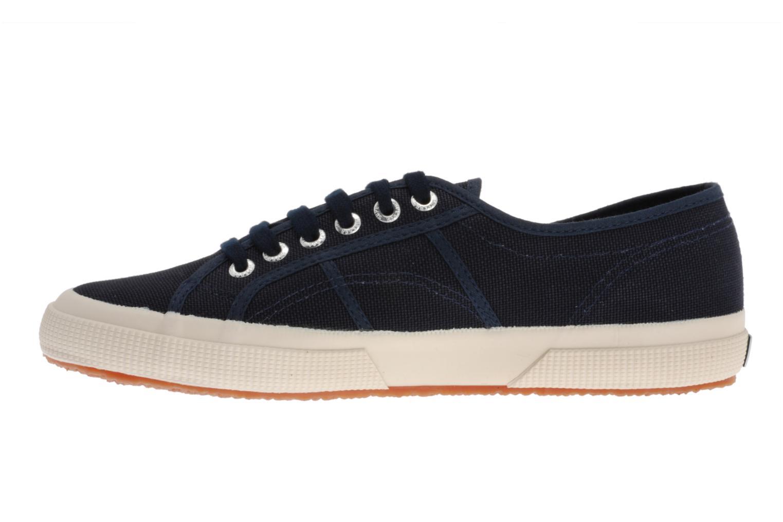 Sneaker Superga 2750 Cotu M blau ansicht von vorne