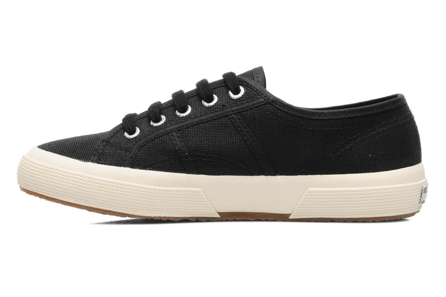 Trainers Superga 2750 Cotu W Black front view