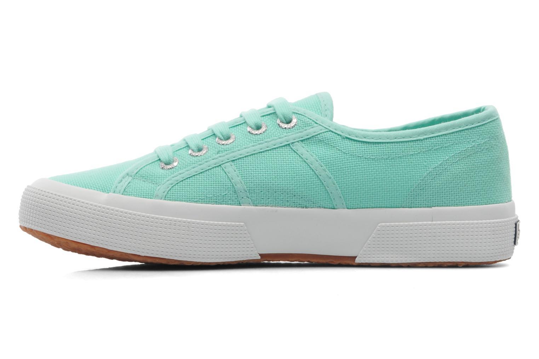 Sneaker Superga 2750 Cotu W grün ansicht von vorne