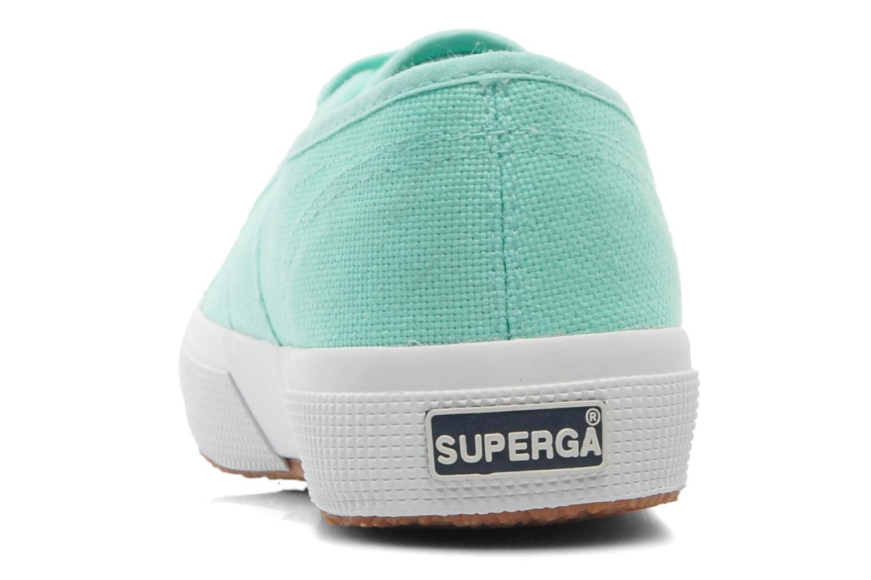 Sneaker Superga 2750 Cotu W grün ansicht von rechts