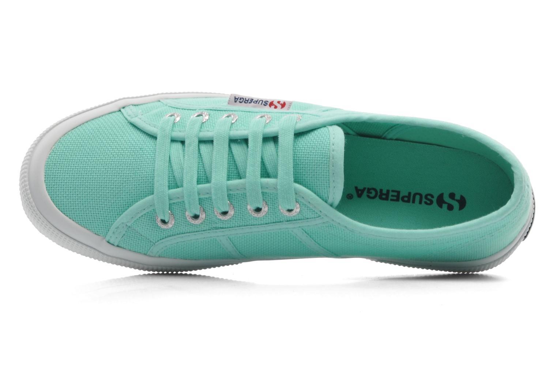 Sneaker Superga 2750 Cotu W grün ansicht von links