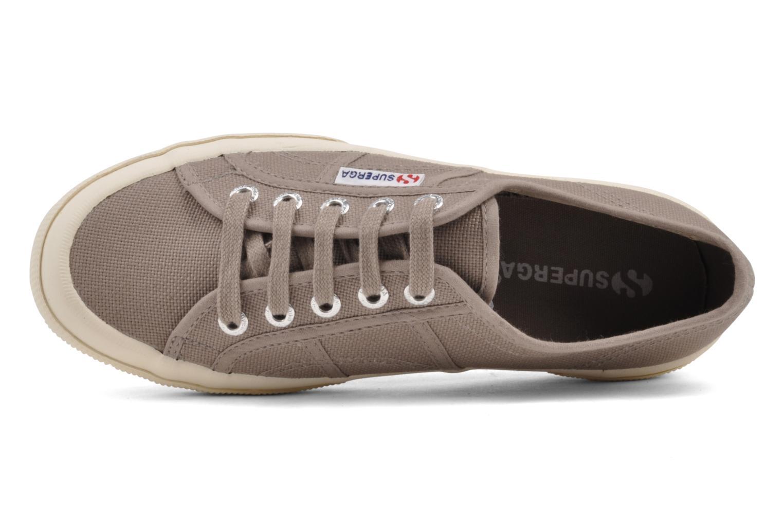 Sneaker Superga 2750 Cotu W braun ansicht von links