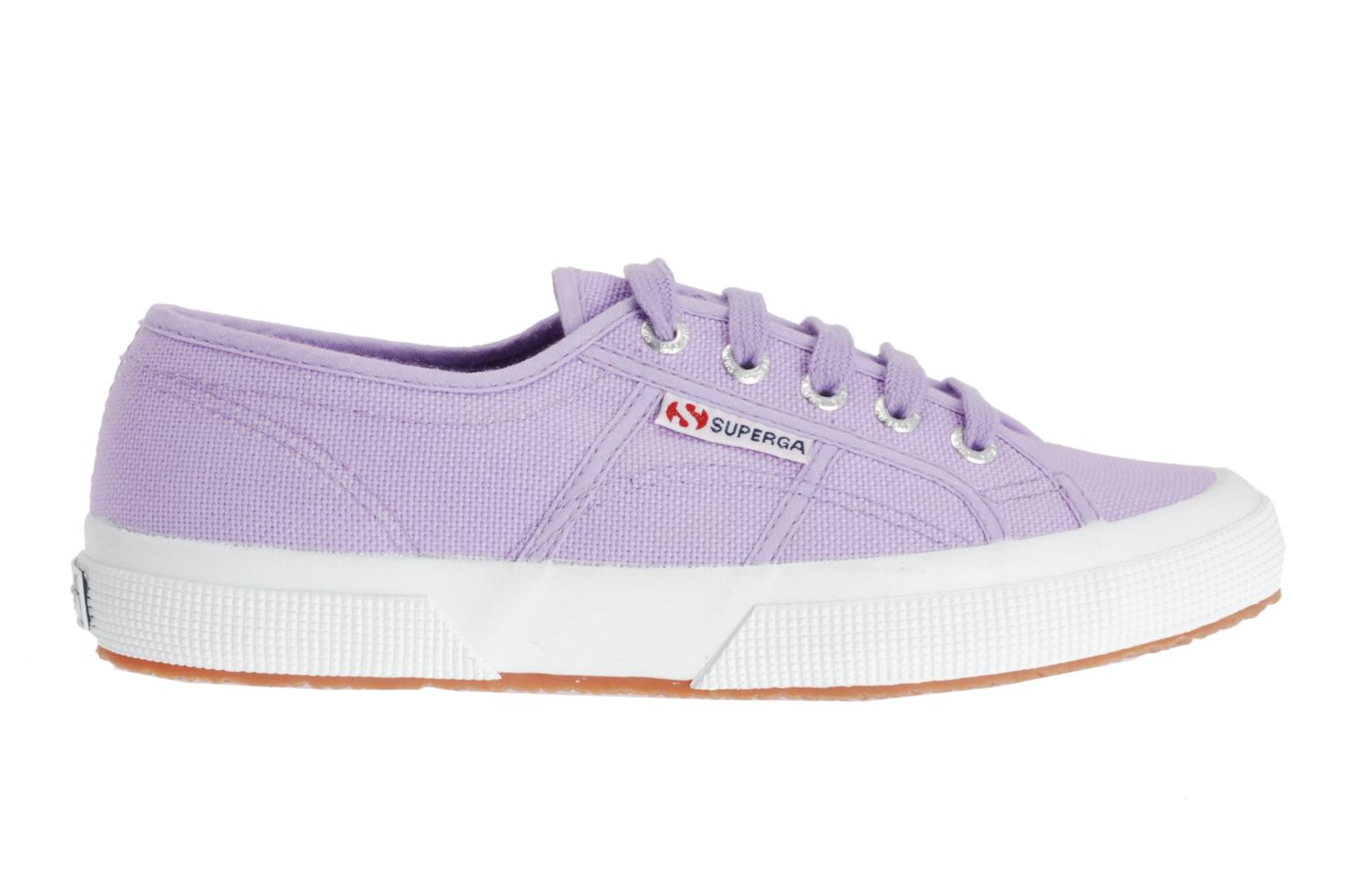 Trainers Superga 2750 Cotu W Purple back view