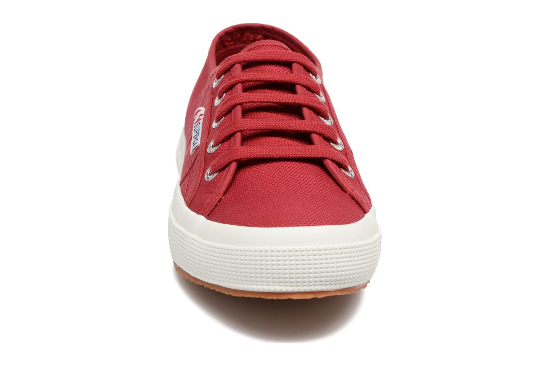 Sneaker Superga 2750 Cotu W rot schuhe getragen