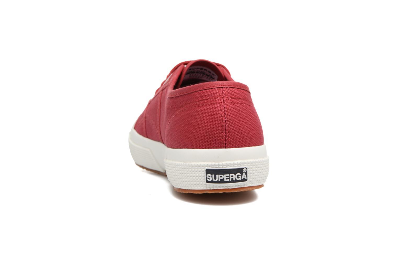 Sneaker Superga 2750 Cotu W rot ansicht von rechts