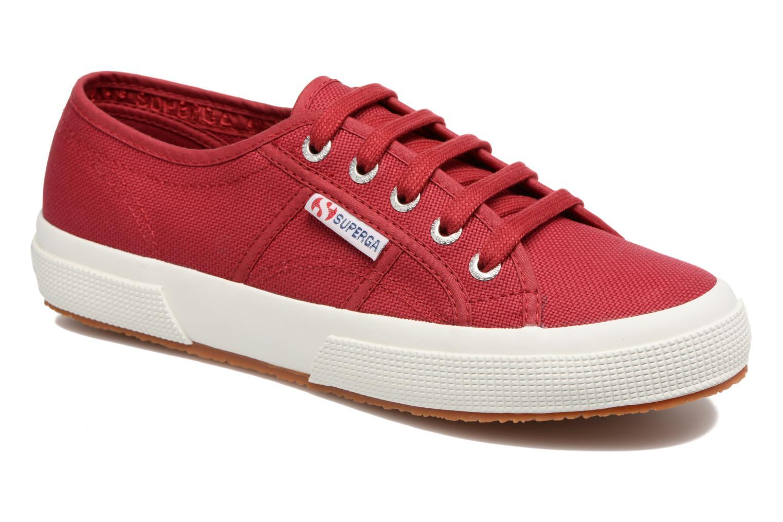 Sneaker Superga 2750 Cotu W rot detaillierte ansicht/modell