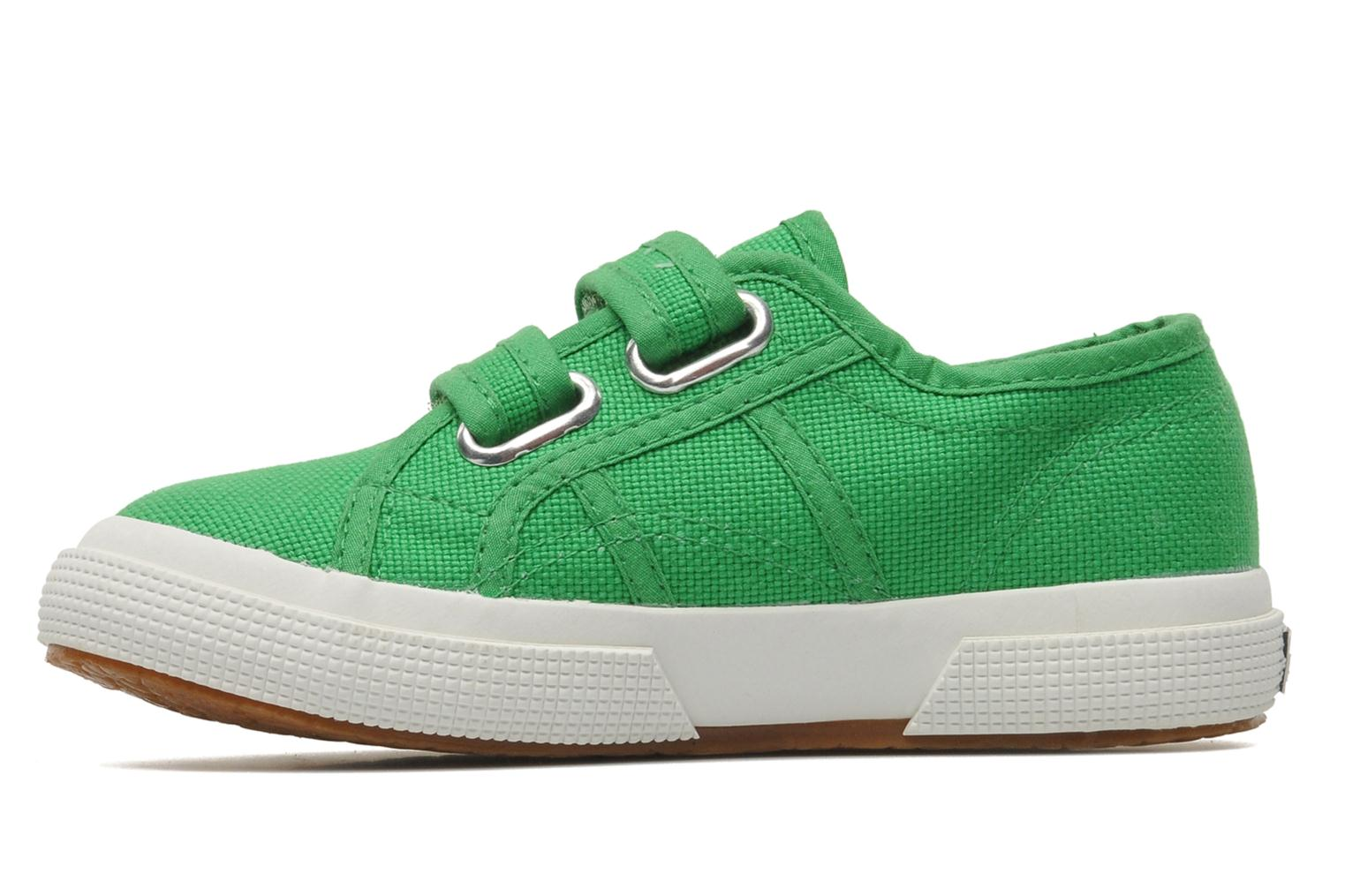 Trainers Superga 2750 J Velcro E Green front view