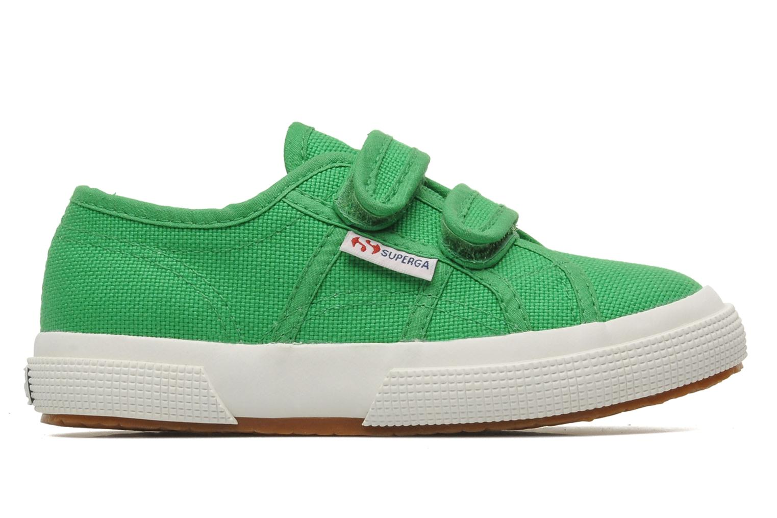 Trainers Superga 2750 J Velcro E Green back view