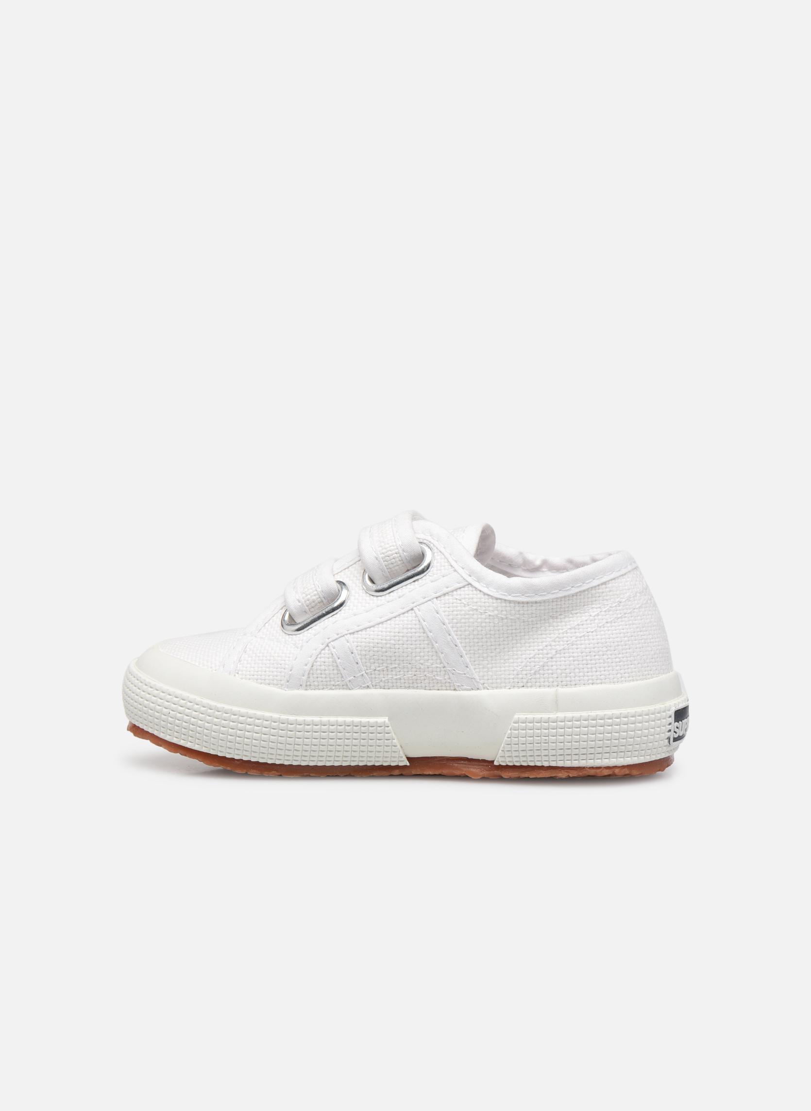 Sneaker Superga 2750 J Velcro E weiß ansicht von vorne