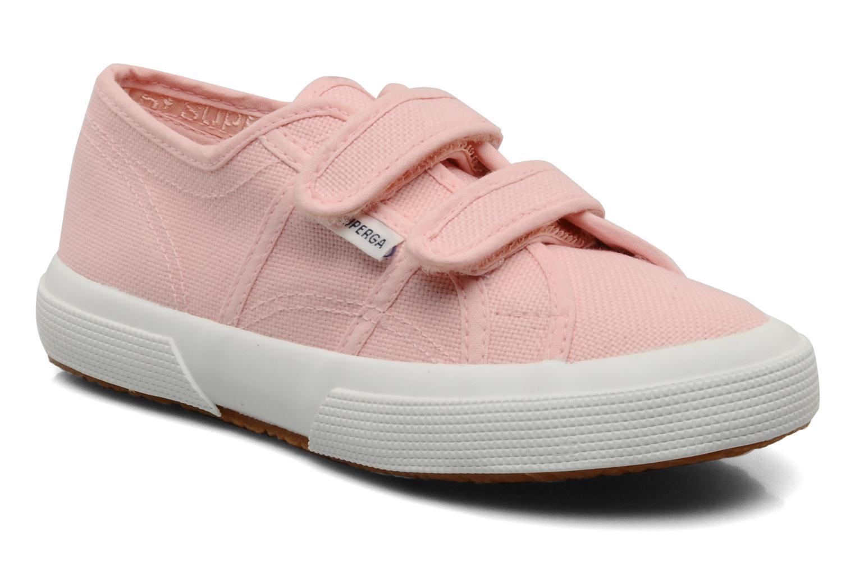 Sneaker Superga 2750 J Velcro E rosa detaillierte ansicht/modell