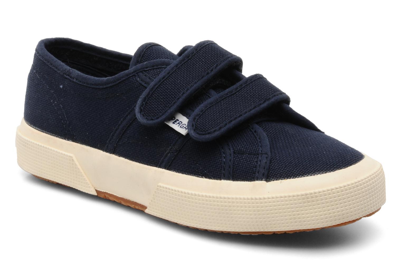 Sneaker Superga 2750 J Velcro E blau detaillierte ansicht/modell