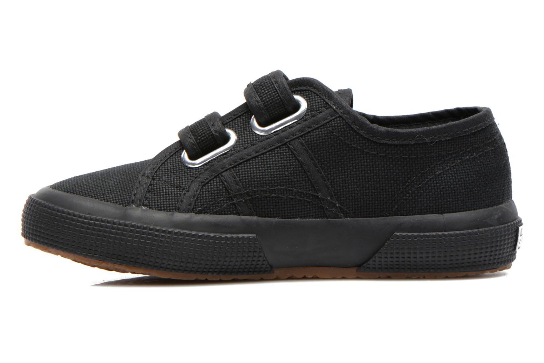 Sneaker Superga 2750 J Velcro E schwarz ansicht von vorne