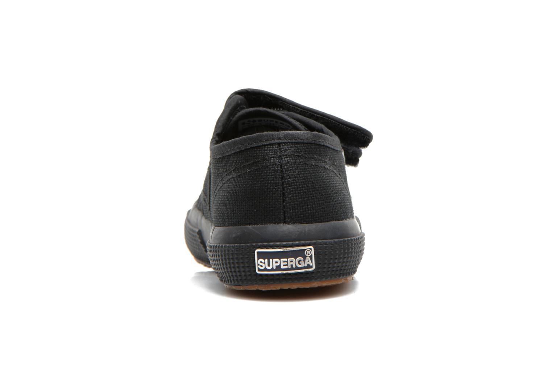 Sneaker Superga 2750 J Velcro E schwarz ansicht von rechts