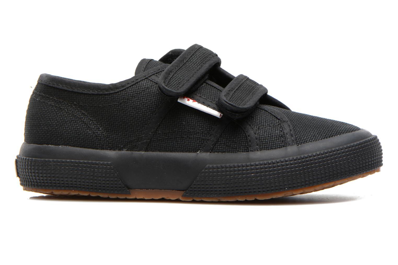 Sneaker Superga 2750 J Velcro E schwarz ansicht von hinten