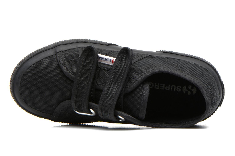 Sneaker Superga 2750 J Velcro E schwarz ansicht von links
