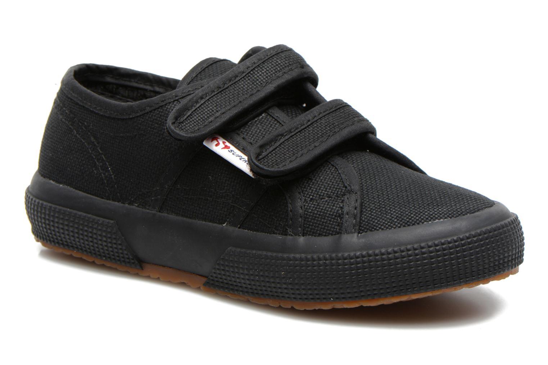 Sneaker Superga 2750 J Velcro E schwarz detaillierte ansicht/modell