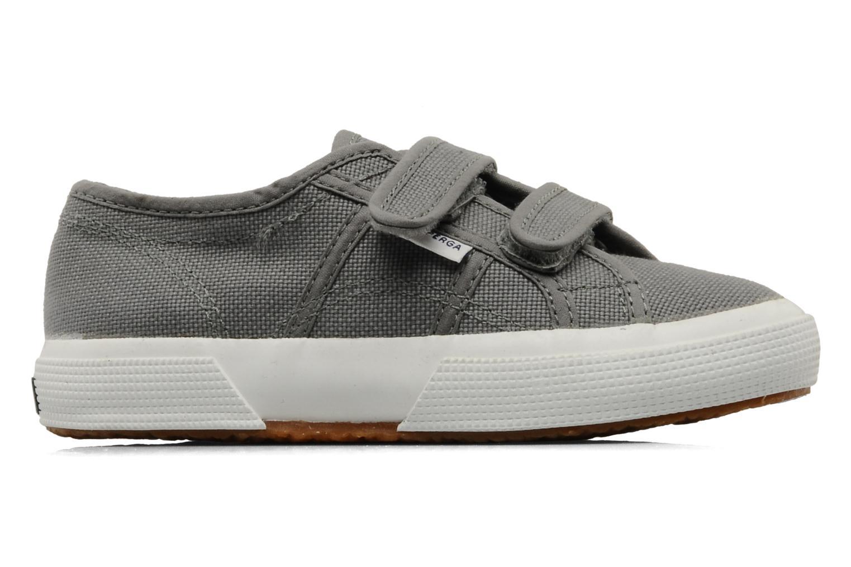 Sneakers Superga 2750 J Velcro E Grijs achterkant