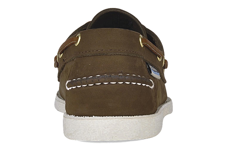 Chaussures à lacets Sebago Docksides M Marron vue droite