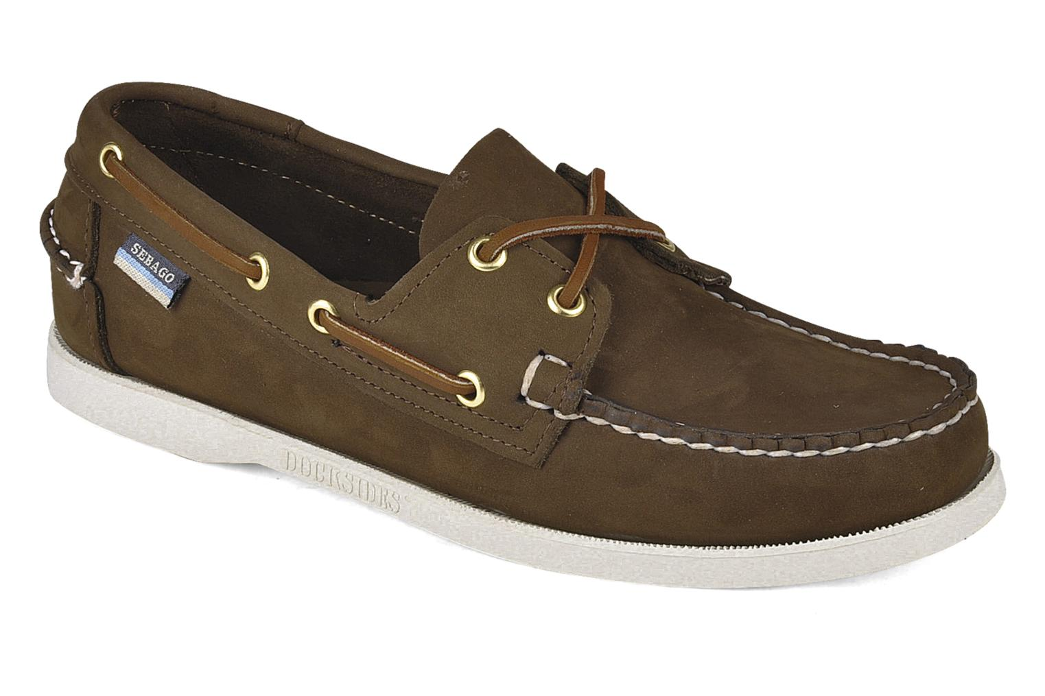 Docksides M Dark Brown Nubuck