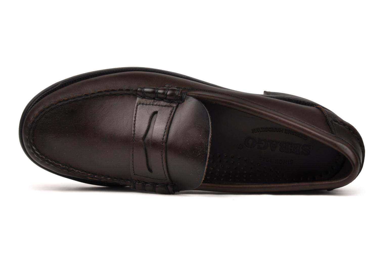Loafers Sebago Classic Brun bild från vänster sidan