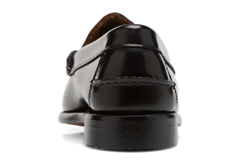 Slipper Sebago Classic schwarz ansicht von rechts