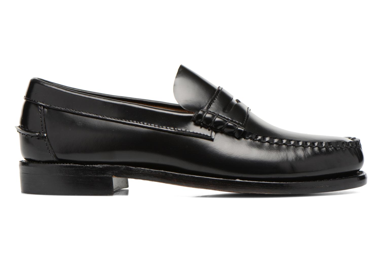 Loafers Sebago Classic Black back view
