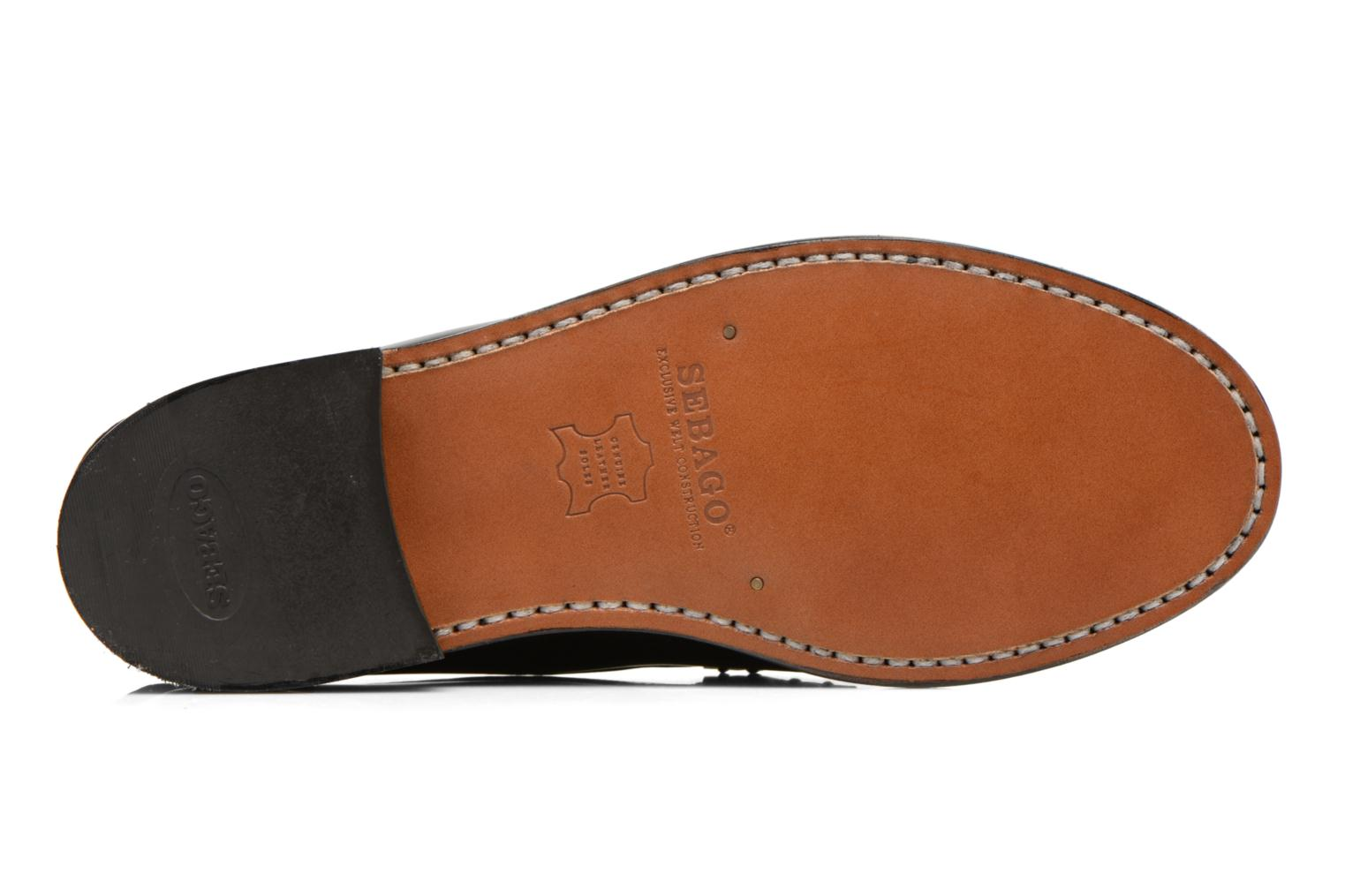 Loafers Sebago Classic Black view from above