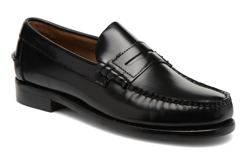 Slipper Sebago Classic schwarz detaillierte ansicht/modell