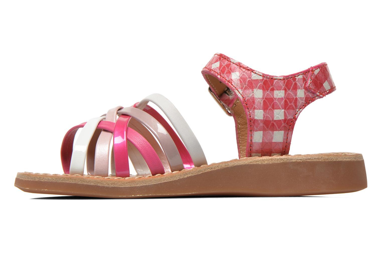 Sandalen Pom d Api Yapo Lux rosa ansicht von vorne
