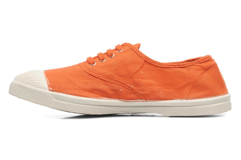 Sneaker Bensimon Tennis Lacets orange ansicht von vorne