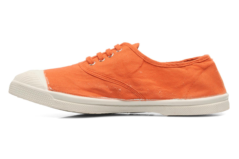 Sneakers Bensimon Tennis Lacets Orange se forfra