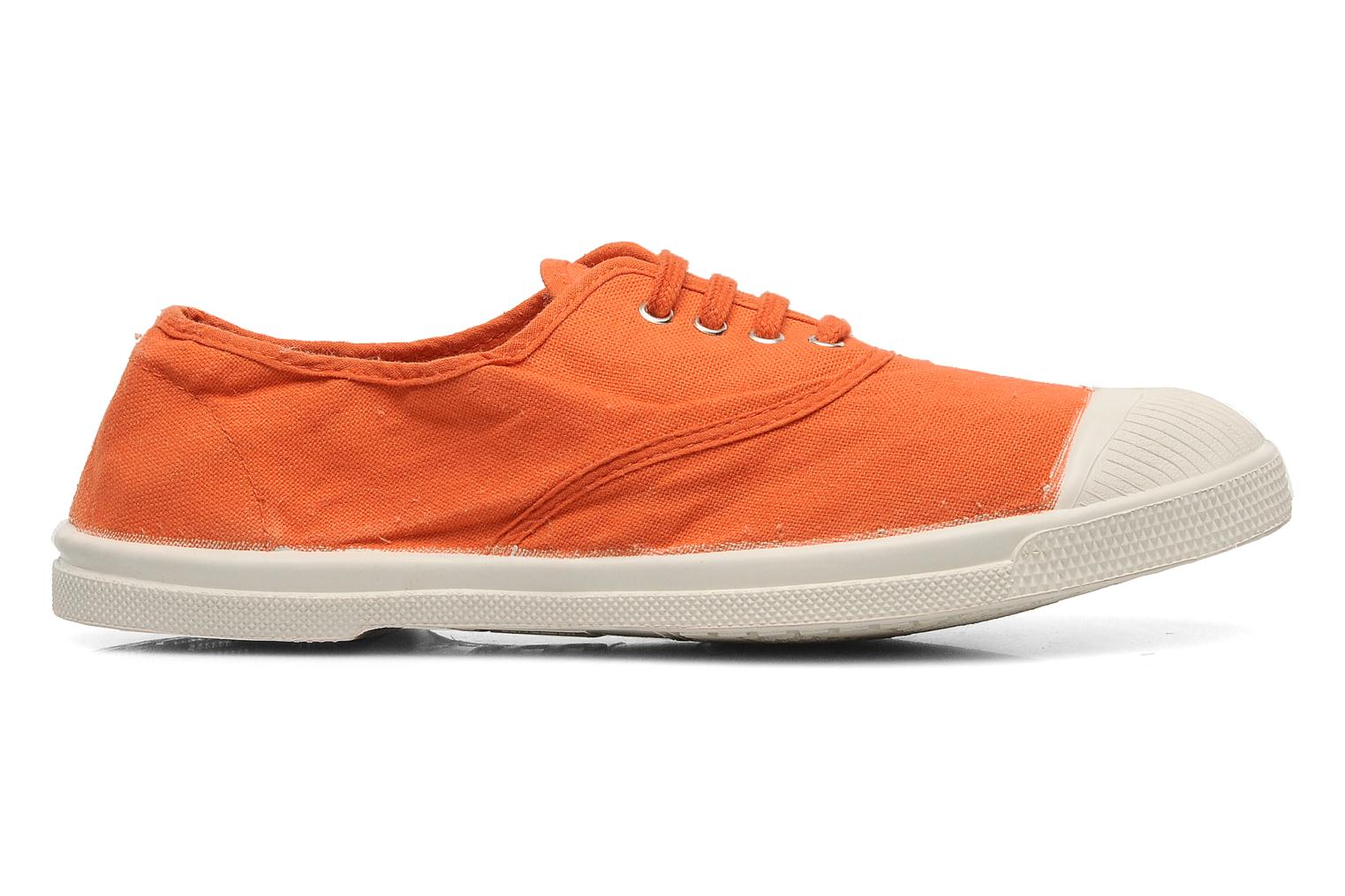 Trainers Bensimon Tennis Lacets Orange back view