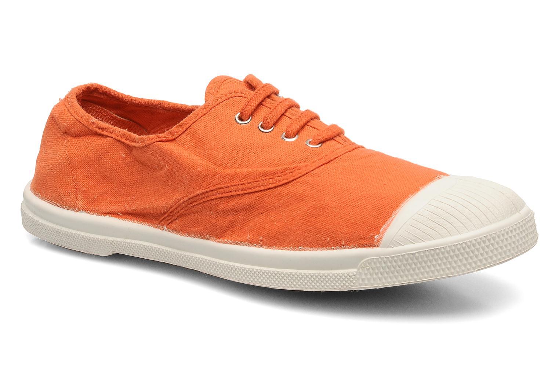 Sneakers Bensimon Tennis Lacets Orange detaljeret billede af skoene