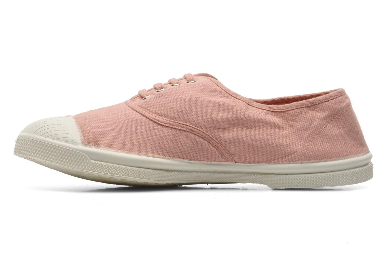 Sneaker Bensimon Tennis Lacets rosa ansicht von vorne