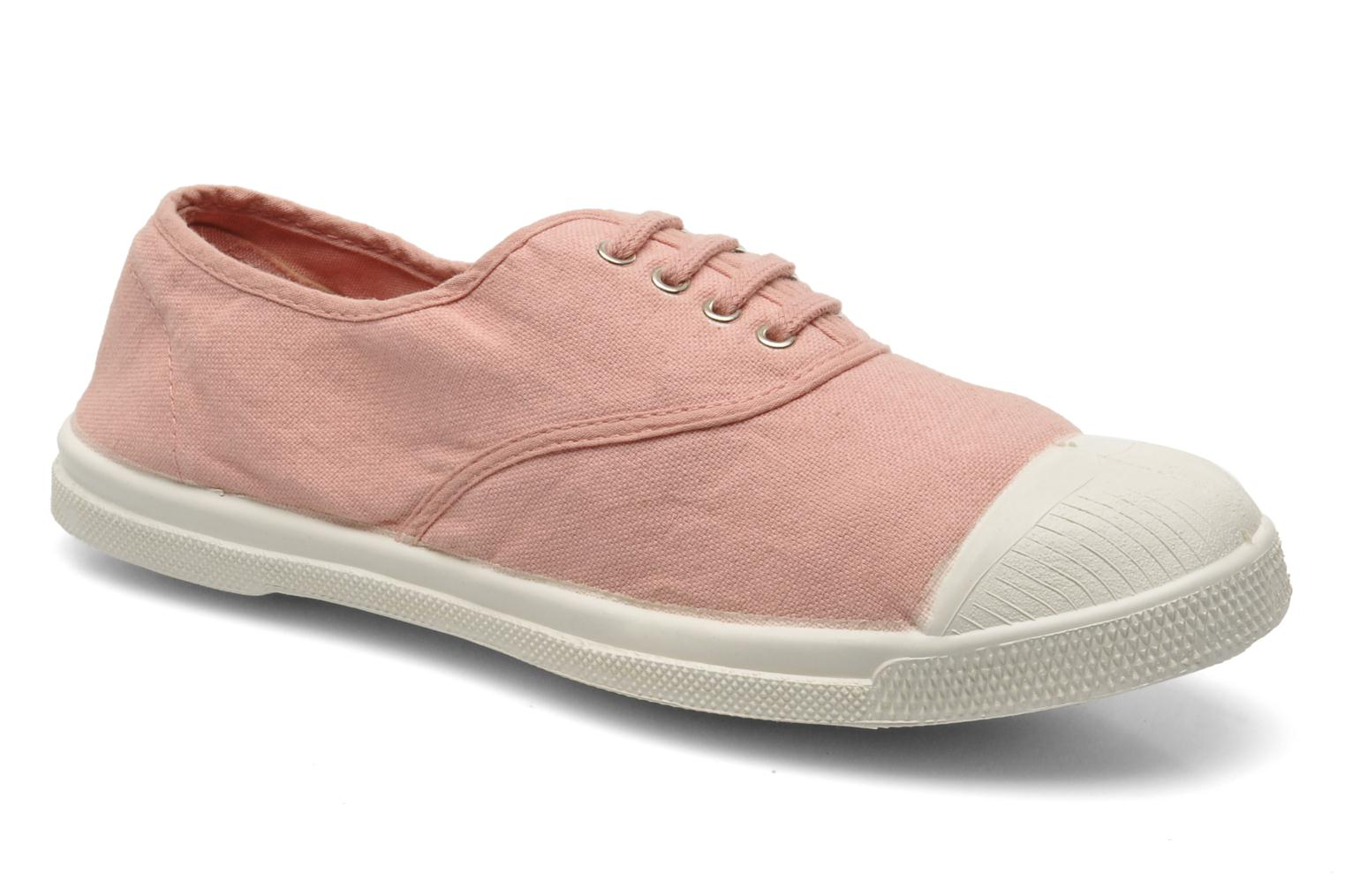Tennis Lacets Rose Ballerine
