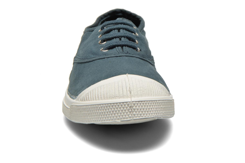 Sneaker Bensimon Tennis Lacets blau schuhe getragen