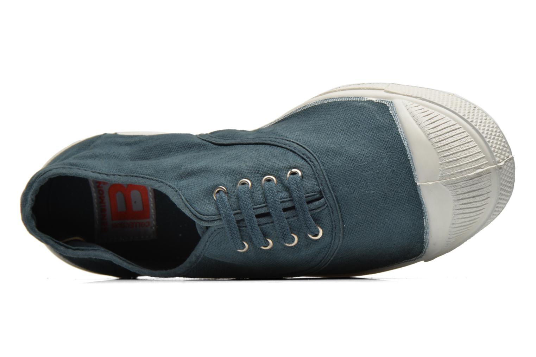Sneaker Bensimon Tennis Lacets blau ansicht von links