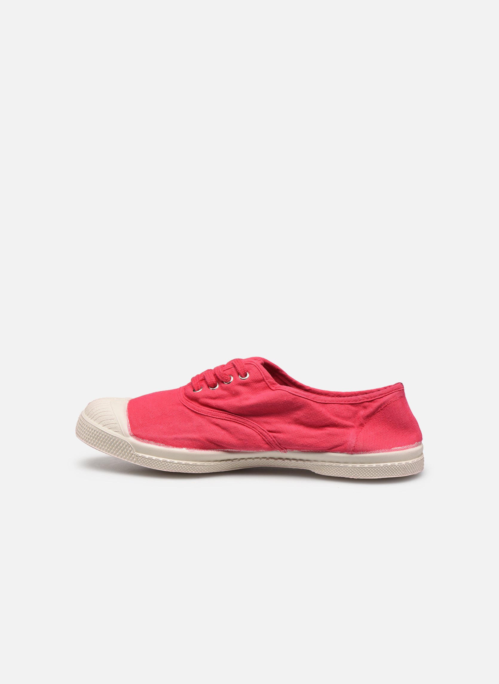 Sneakers Bensimon Tennis Lacets Rosso immagine frontale