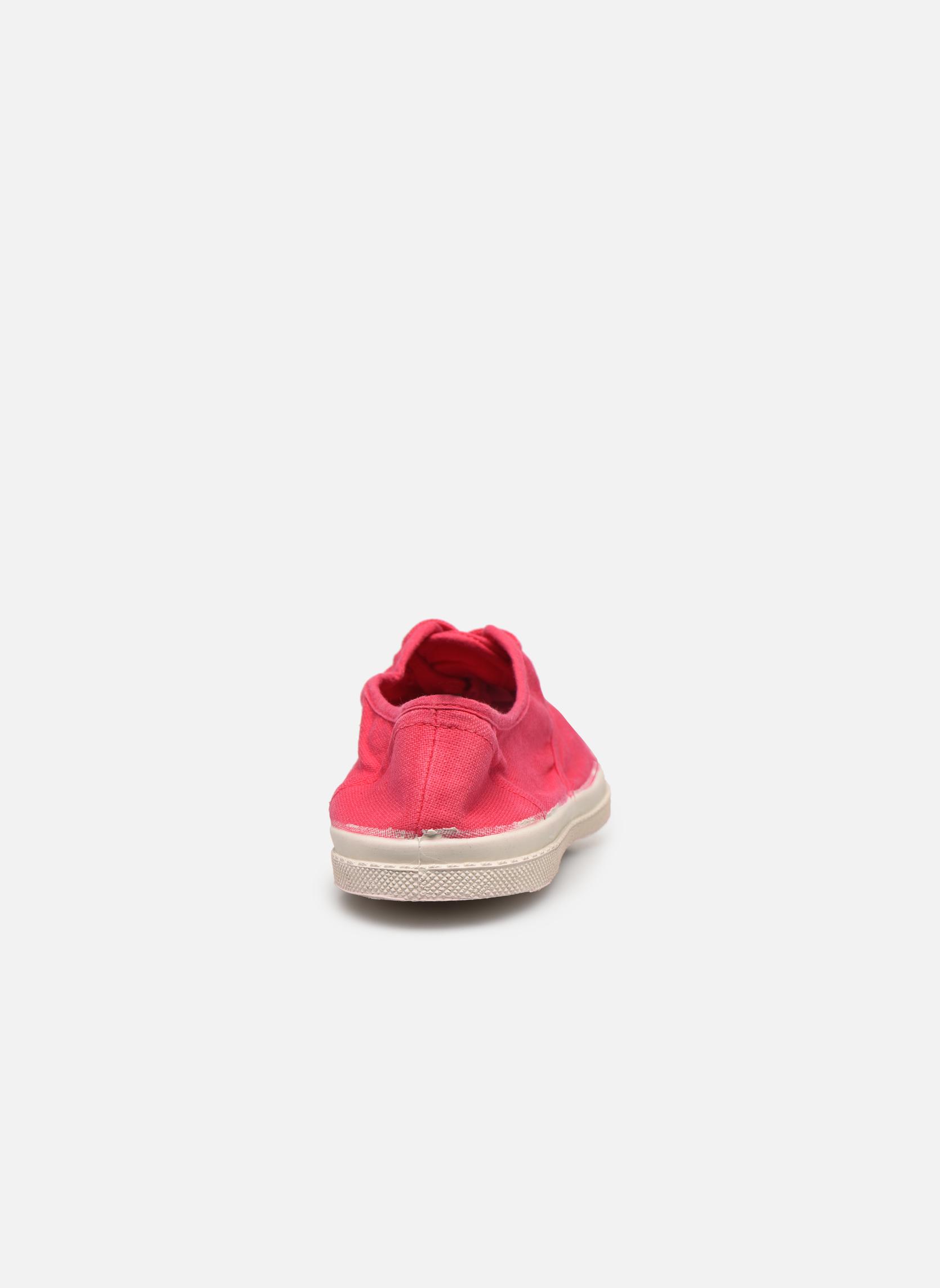 Sneakers Bensimon Tennis Lacets Rood rechts