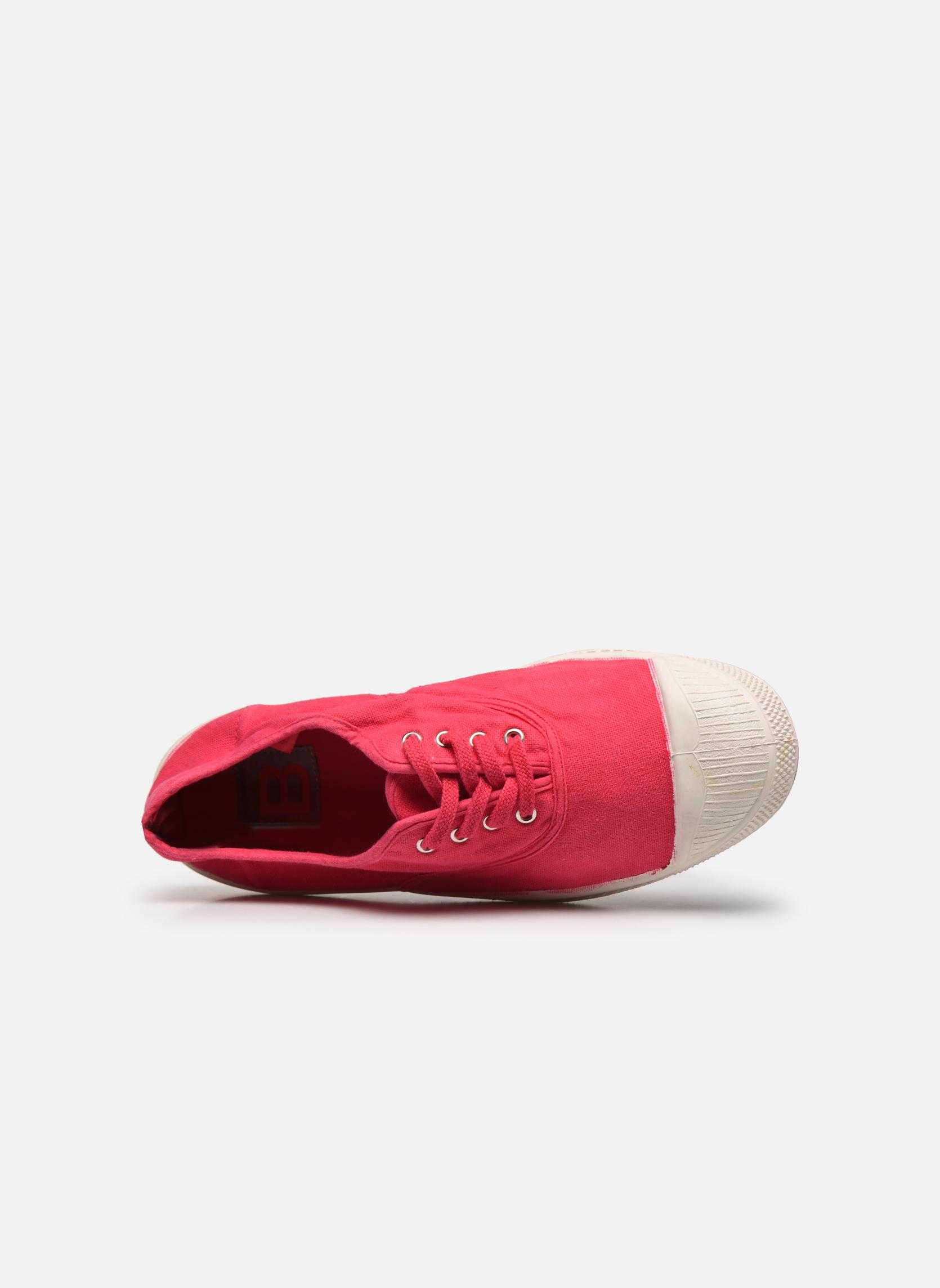 Sneakers Bensimon Tennis Lacets Rød se fra venstre