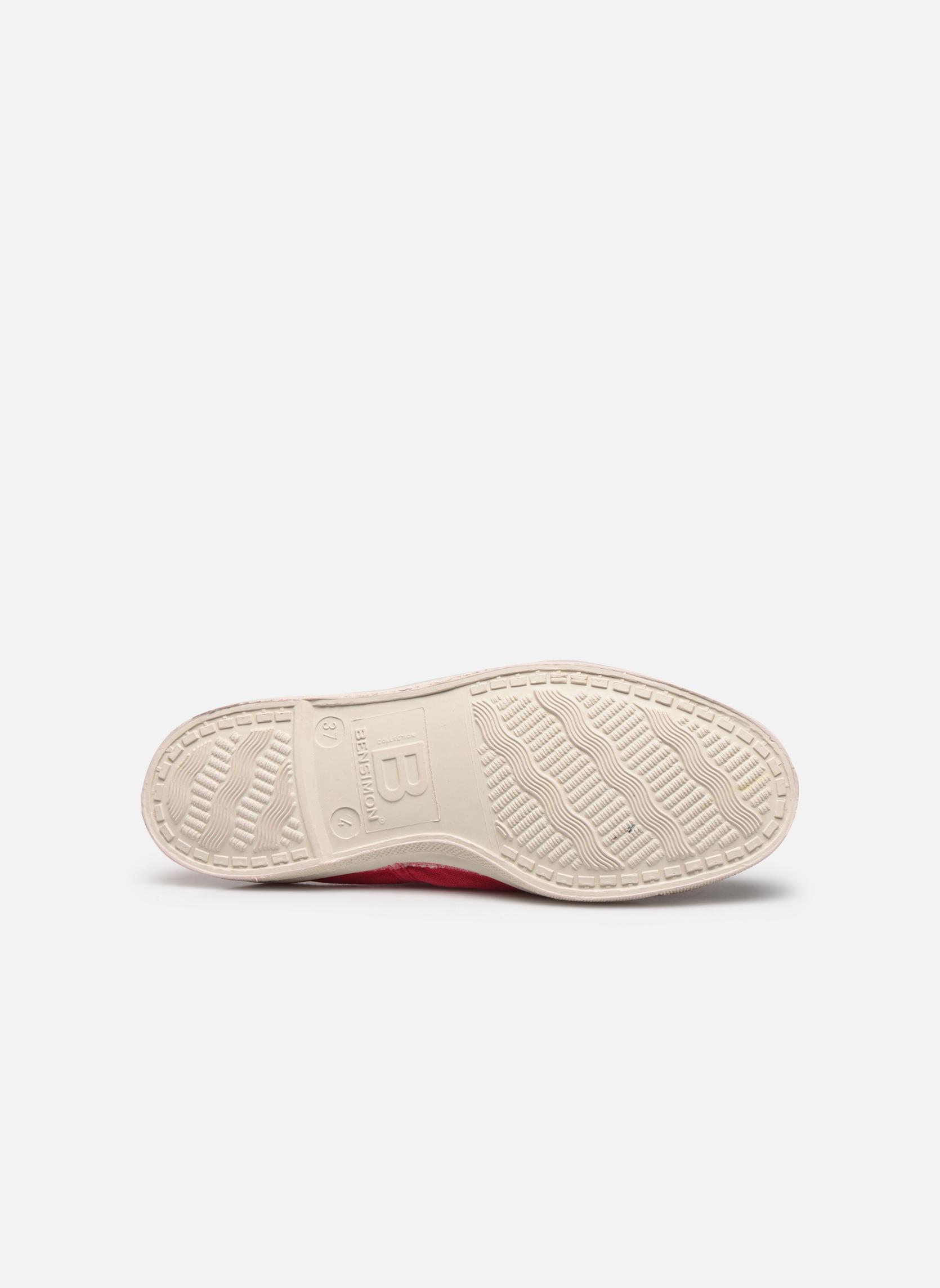 Sneakers Bensimon Tennis Lacets Rød se foroven