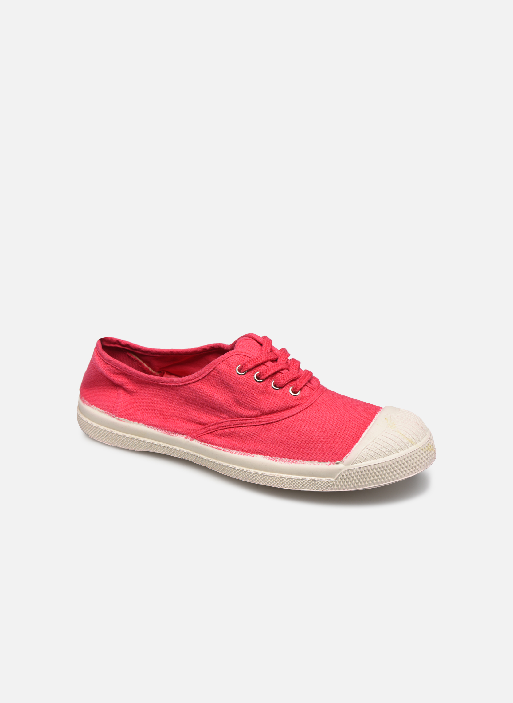 Sneakers Bensimon Tennis Lacets Rood detail
