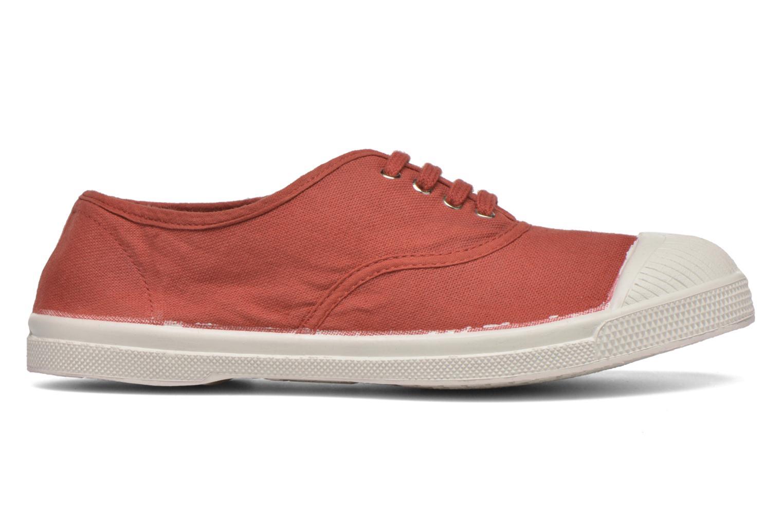 Sneaker Bensimon Tennis Lacets rot ansicht von hinten