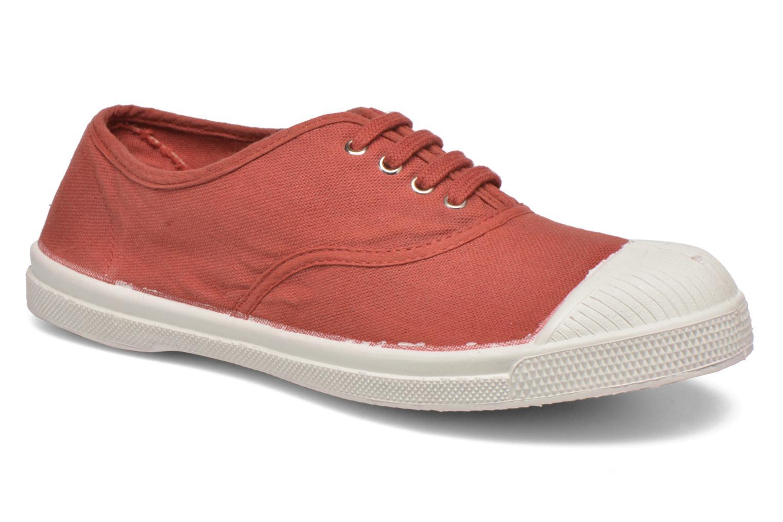 Sneaker Bensimon Tennis Lacets rot detaillierte ansicht/modell