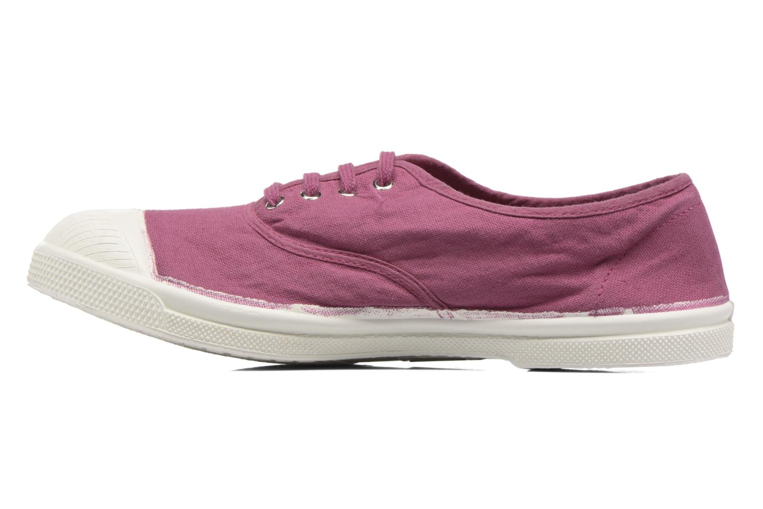 Trainers Bensimon Tennis Lacets Purple front view